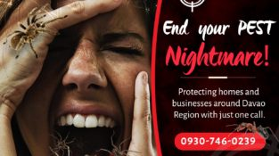 End your Pest Nightmare!  Protecting homes and businesses around Davao region wi…