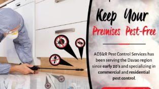 Keep Your Premises Pest-Free  ADJ&R Pest Control Services has been serving the D…