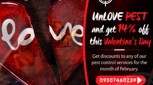 UnLOVE PEST and get 14% off this Valentine's Day  Get discounts to any of our pe…