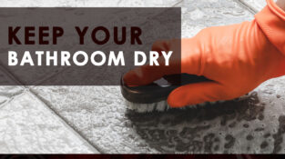 Keep your bathroom dry!!!  Earthworms find damp spaces attractive. While it enjo…