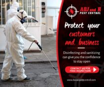 Protect your customers and business. ADJ and R disinfecting and sanitizing can g…