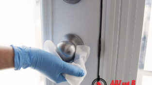 Regular disinfection of your house especially on walls, floors, desks, keyboards…